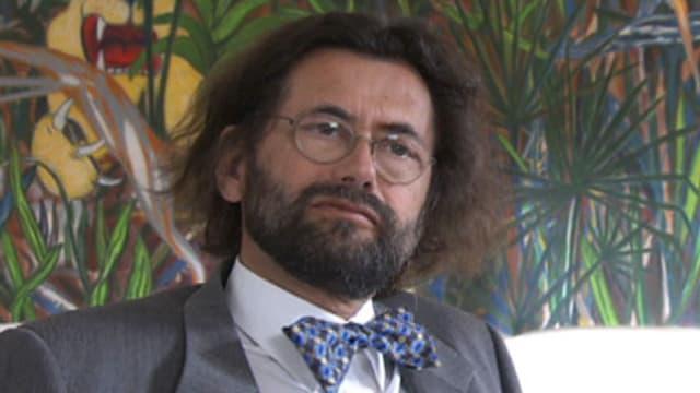 Ein Porträt von Thomas Geiser.