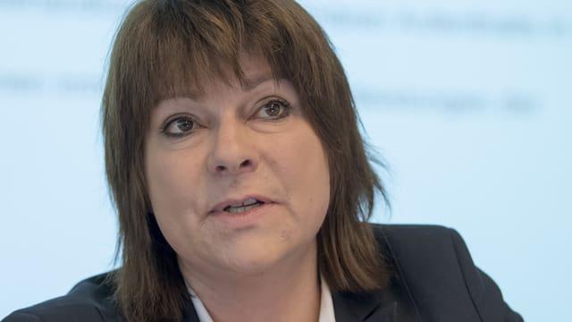 Santésuisse-Direktorin Verena Nold