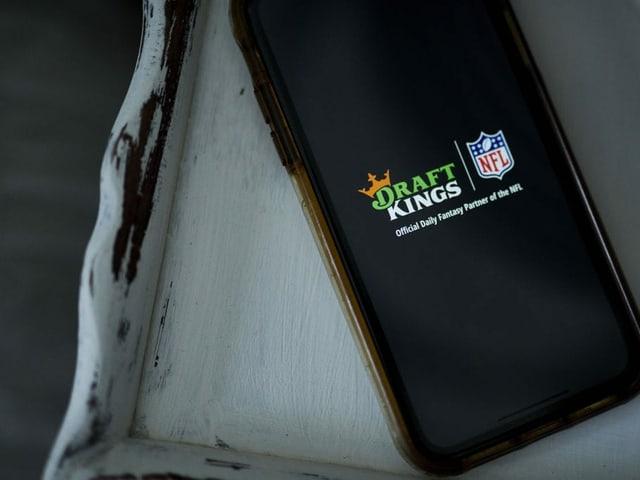 App von Draft Kings auf einem Smartphone