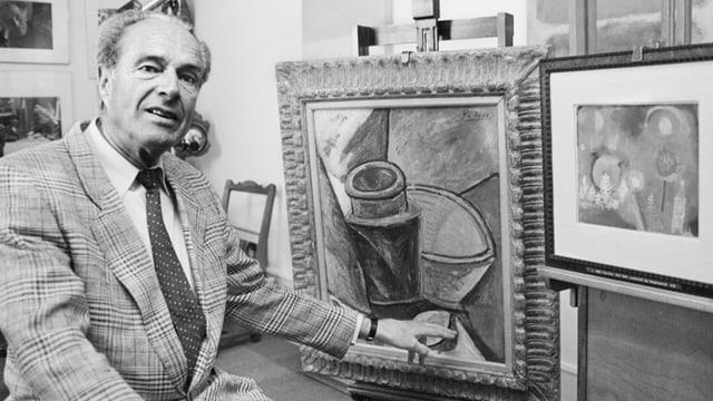 Aus dem Archiv: Ein Portrait von Ernst Beyeler