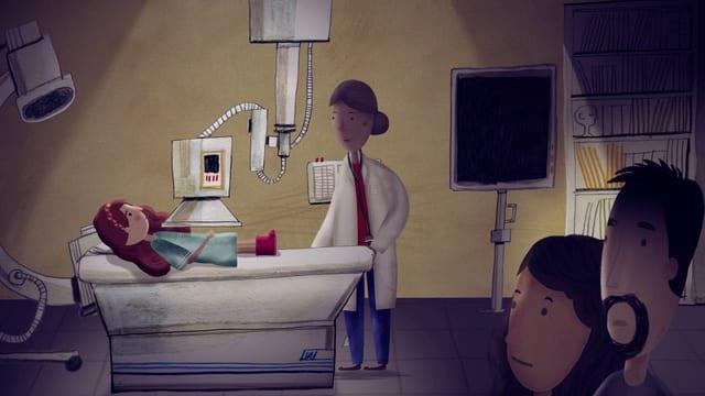 Video «Ich kann heute nicht in die Schule gehen: Leukämie (2/5)» abspielen