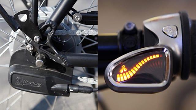 Eine Automatik-Schaltung macht das E-Bike noch komfortabler.