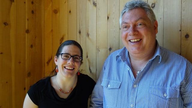 Annalea Stuppan e Hermann Thom