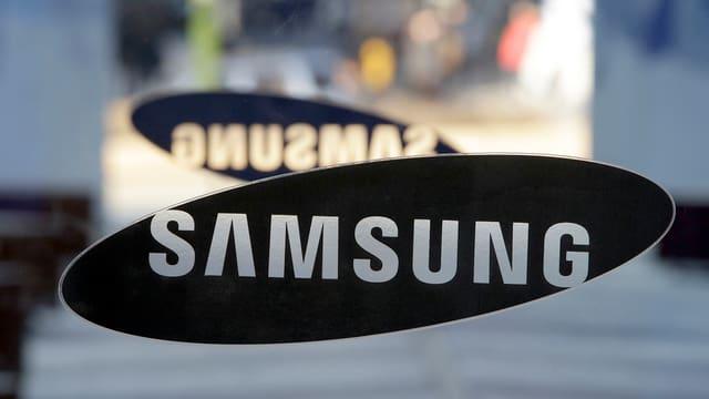 Logo da Samsung.