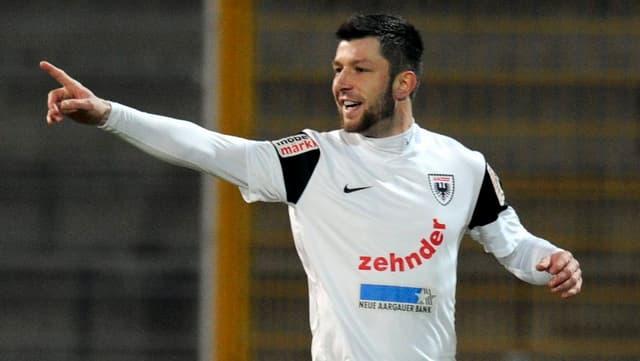 Der Mittelfeldspieler will mit Aarau den FCSG erneut aus dem Cup werfen.
