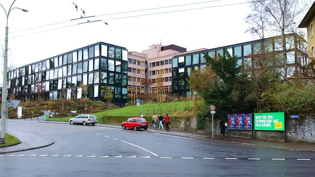Hauptsitz der Helvetia in St. Gallen.
