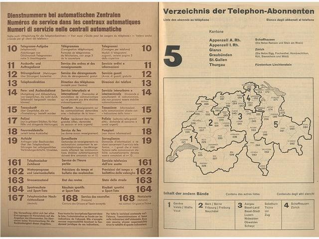 Schweizer Telefonbuch 1959-1960