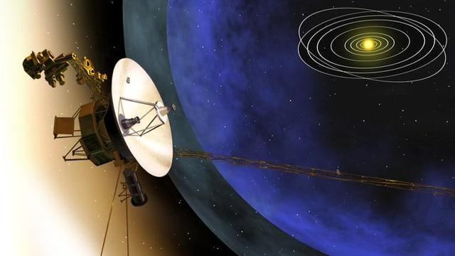 Illustration einer Sonde