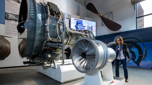 Anatomie eines Flugzeugtreibwerks