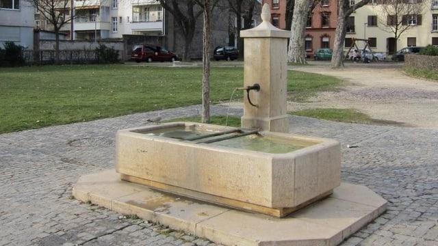 Dorfbrunnen von Kleinhüningen.