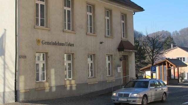 Gemeindehaus von Ueken, Aussenansicht