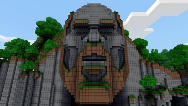 Magnus «Notch» Perssons: Sein Konterfei hat natürlich auch jemand in Minecraft nachgebaut.