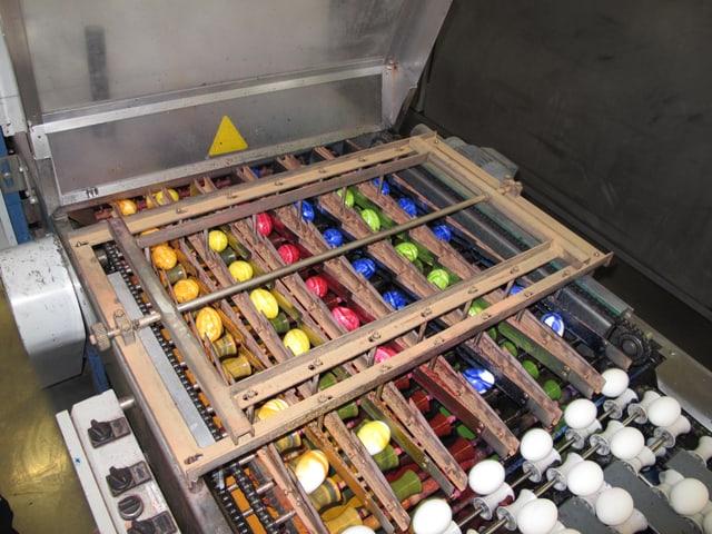 Eier in einer Maschine
