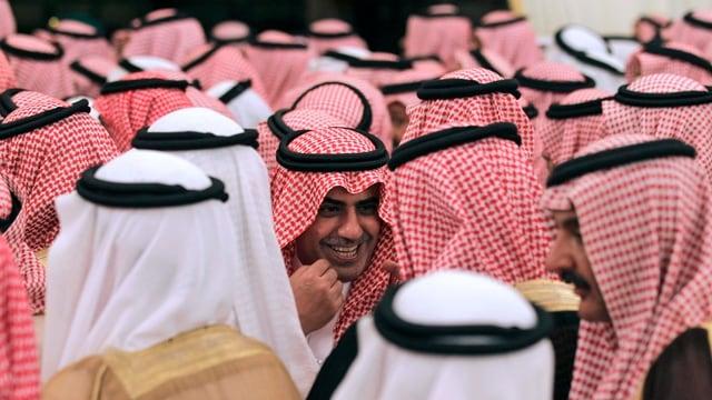 Saudische Männer