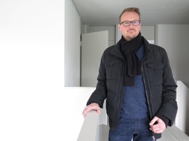 Boris Bittel ist bei Immobilien Stadt Bern für Vermietungen zuständig.