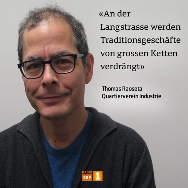 Thomas Raoseta, Quartierverein Industrie
