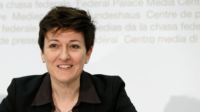 La directura da la fedpol, Nicoletta della Valle.