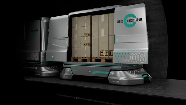 Simulaziun Cargo sous terrain.