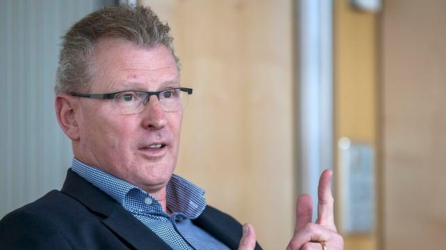 Der Zuger SVP-Finanzdirektor Heinz Tännler.
