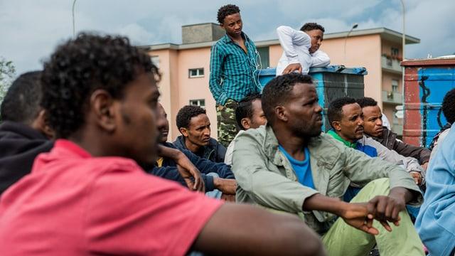 Eritreans en Svizra.