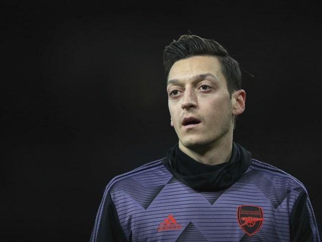 Mesut Özil spielt in London keine Rolle mehr.