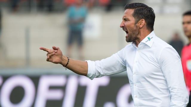 St. Gallen-Coach Joe Zinnbauer.