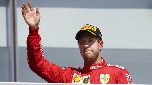 Purtret da Sebastian Vettel.