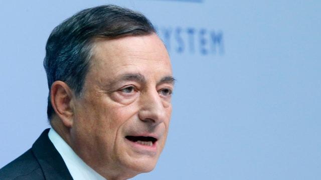 Mario Draghi president da la Banca centrala europieca.
