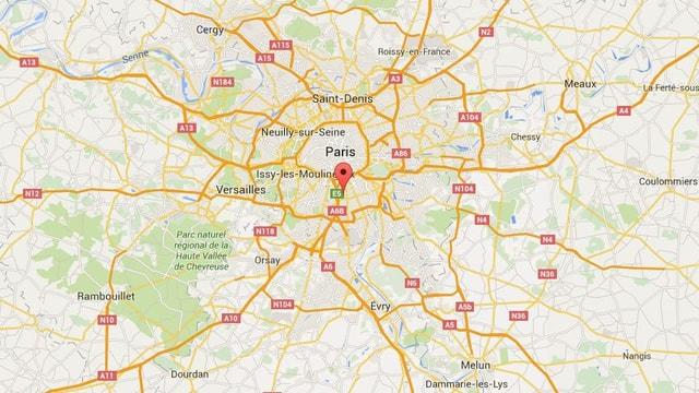 Karte Villejuif