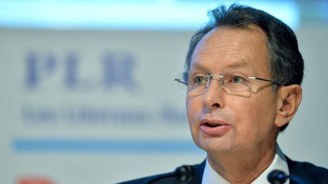 Philipp Müller (FDP/AG) in Nahaufnahme
