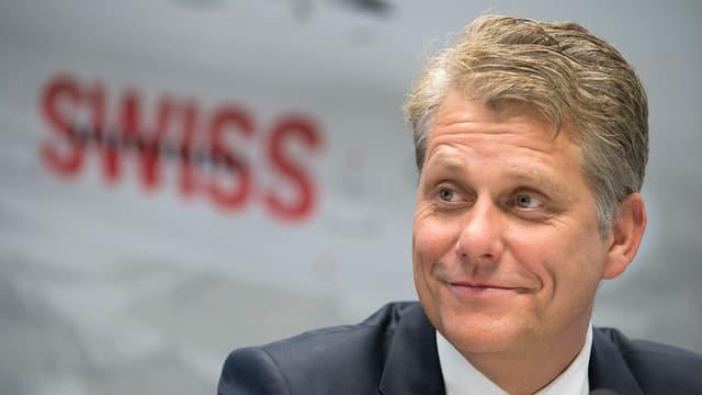 Harry Hohmeister resta il CEO da la Swiss fin la fin da l'onn.
