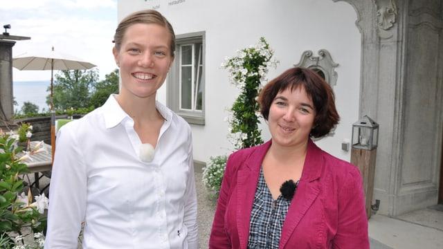 Video «St. Gallen - Tag 1 - Schloss Wartegg» abspielen