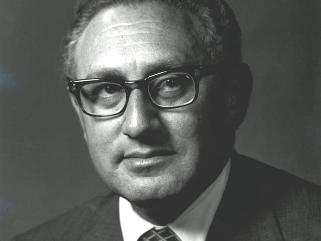 Portrait von Henry Kissinger