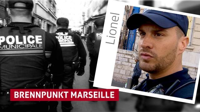 Polizist in Marseille