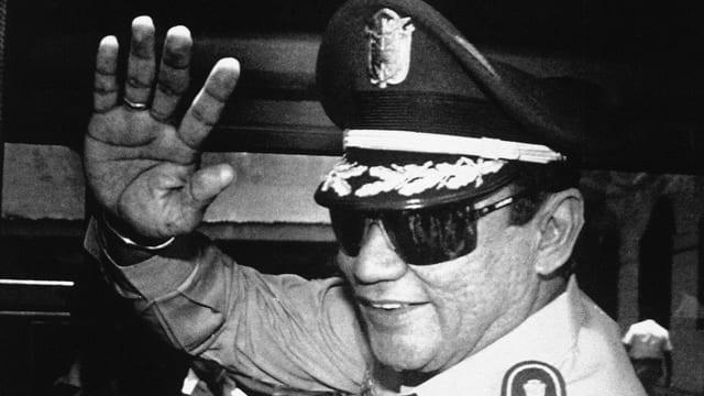 Il dictatur militar Manuel Noriega l'onn 1989.