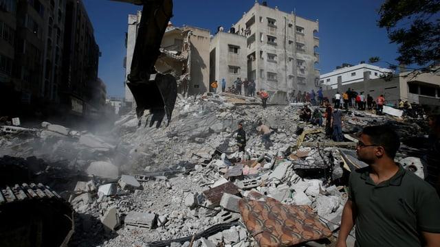 Grosses Leid der Menschen in Gaza