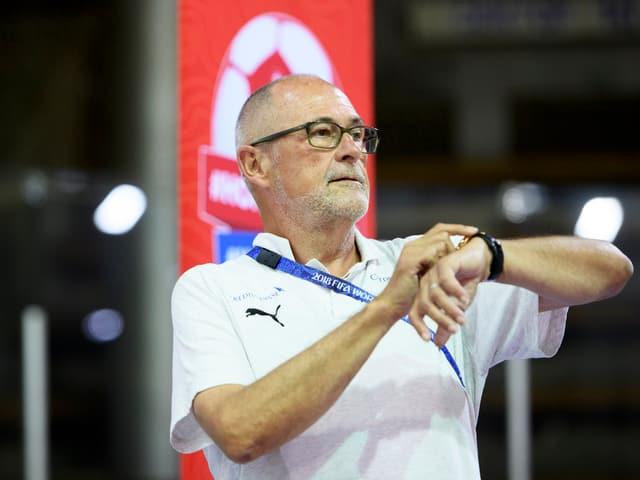 SFV-Präsident Peter Gilliéron.