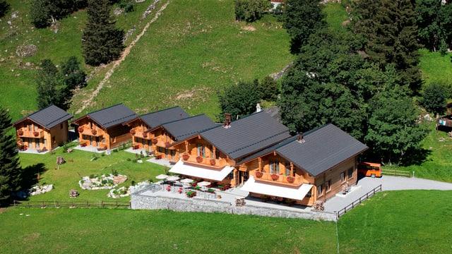 Das Luxushotel Ahorn in Braunwald