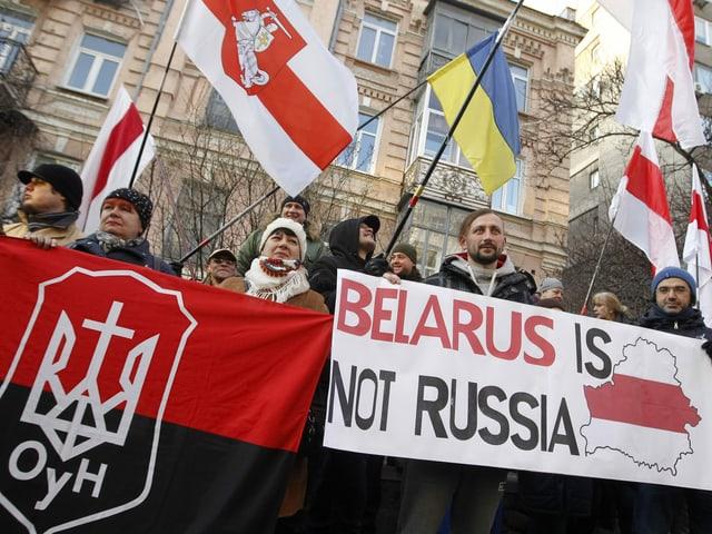 Protestanten in Kiew