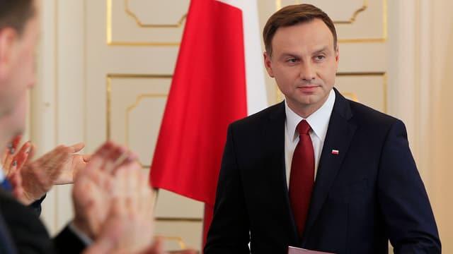 Purtret Andrzej Duda, president da la Pologna.