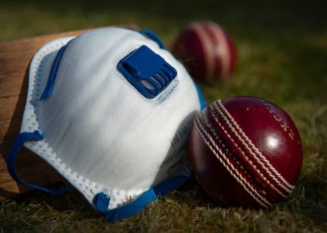 Der im Cricket verwendete Lederball.