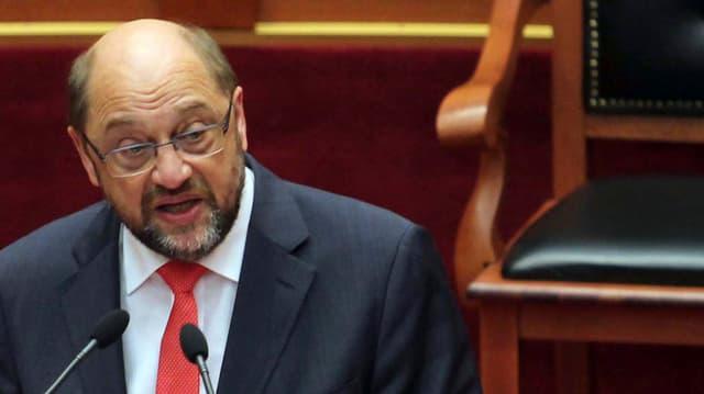Martin Schulz, EU- Parlamentspräsident.