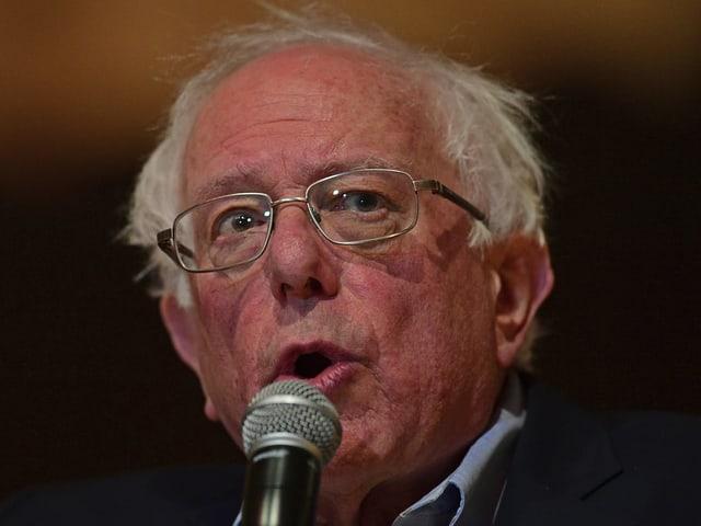 Bernie Sanders im Porträt