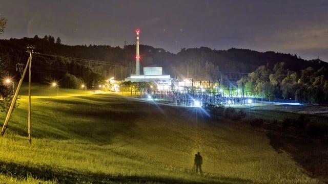 Das Atomkraftwerk Mühleberg im Kanton Bern. (keystone)