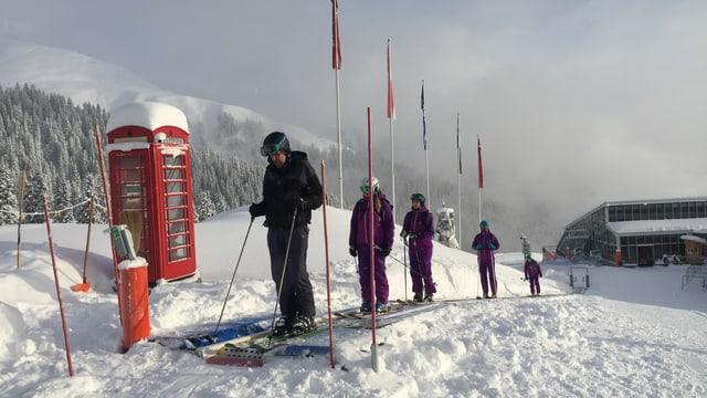 Finalmain pon ins ir cun skis