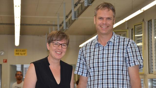 Portrait Susanna Hurni und Eric Müller