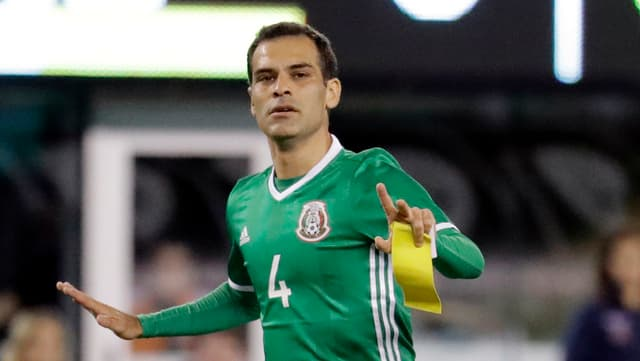 Rafael Marquez im Mexiko-Dress.