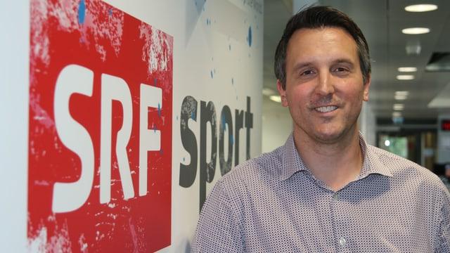 SRF-Sport-Projektleiter Philipp Stöckli