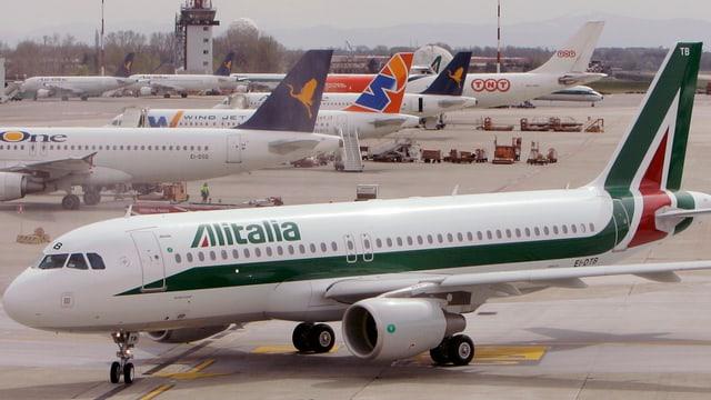 Aviun da l'Alitalia.