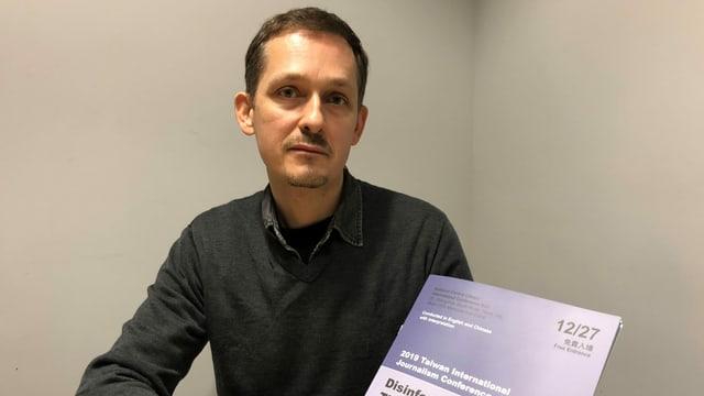 Cedric Alvani ist Direktor des Ostasien-Büros von «Reporter ohne Grenzen».